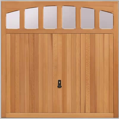 wooden garage door bolton